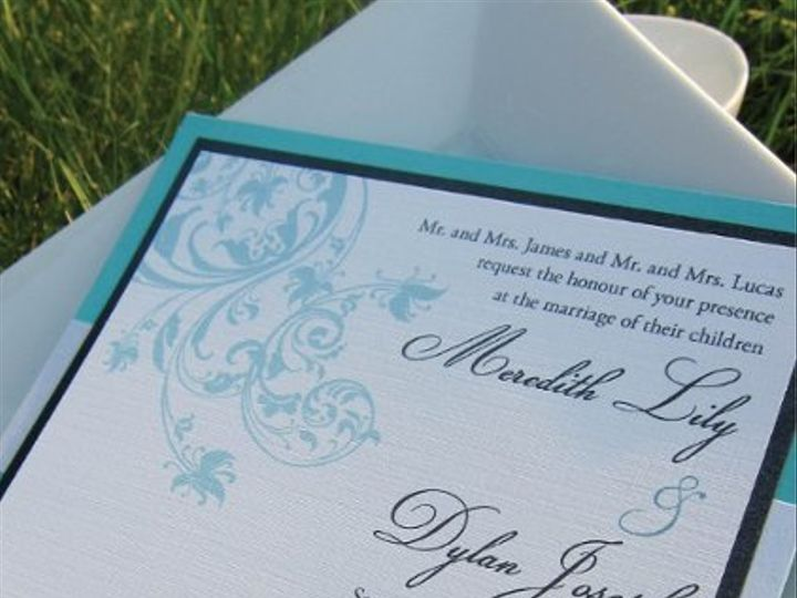 Tmx 1315328008839 Wedding1 New Milford wedding invitation