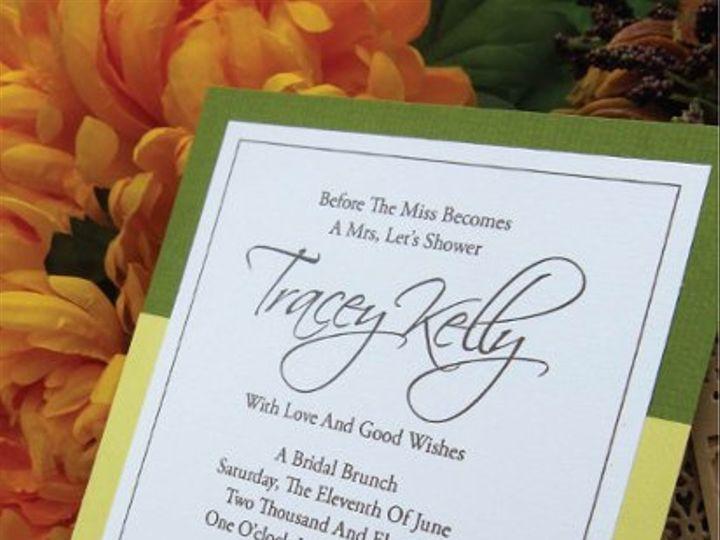 Tmx 1315328119433 BridalShowerC New Milford wedding invitation