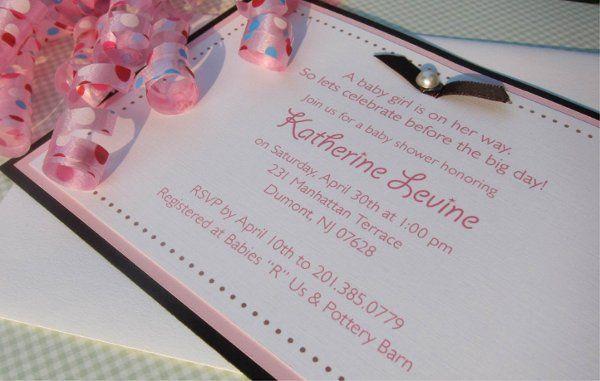 Tmx 1315328300136 Baby1 New Milford wedding invitation