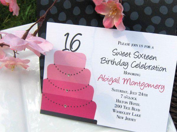 Tmx 1315328450527 Sweet16A New Milford wedding invitation