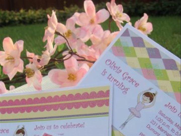 Tmx 1315328453464 Ballerina1 New Milford wedding invitation