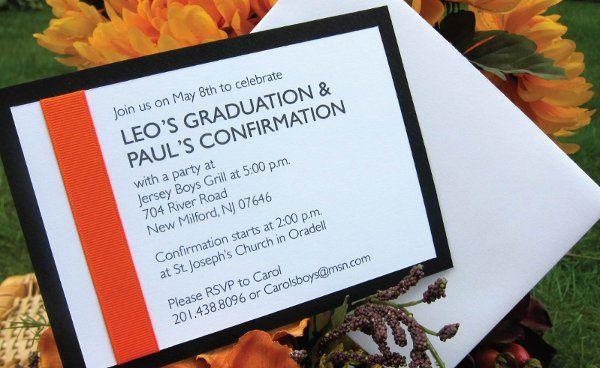 Tmx 1315328455777 GraduationA New Milford wedding invitation