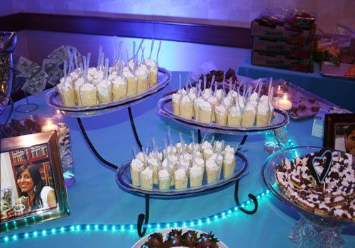 Desiree Chocolates can create an intimate setting for your wedding reception sweet table. Our fresh...