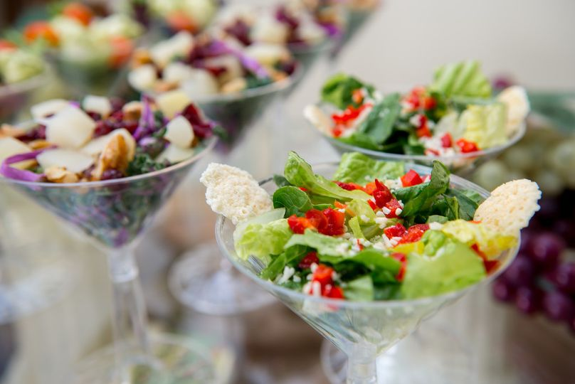 Salad in a cup