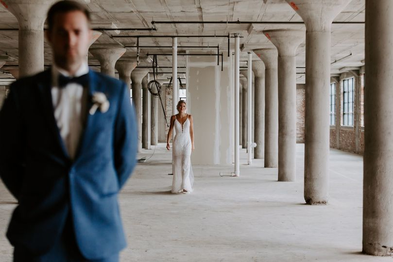 Industrial-chic setting - Christina Ney Photography