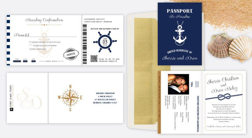 nautical passport set