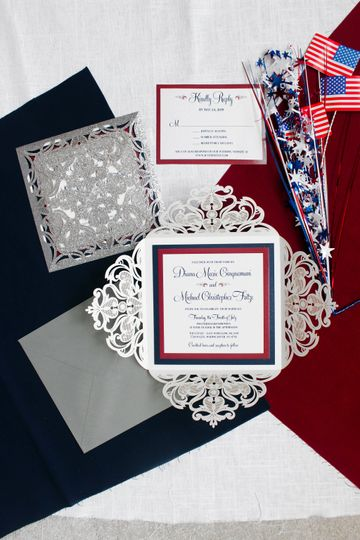 Fourth of July Wedding