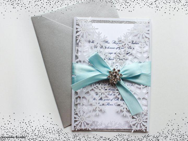 Tmx Theknot11 51 765033 157938708492018 Commack, NY wedding invitation