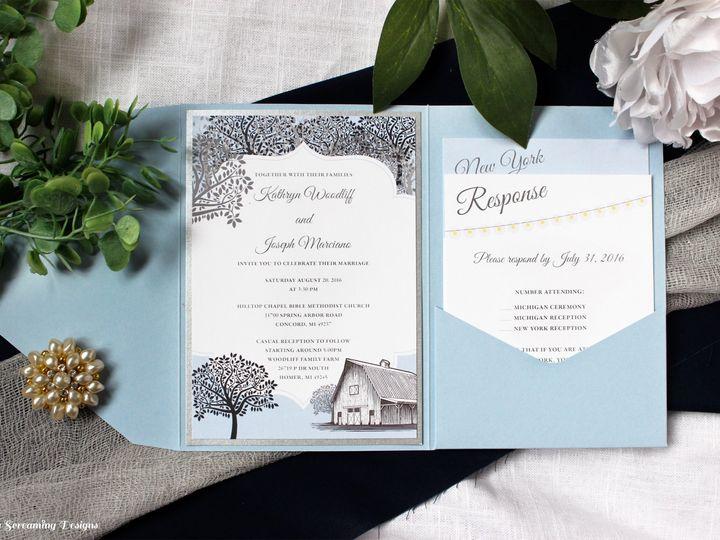 Tmx Theknot14 51 765033 157938708470934 Commack, NY wedding invitation