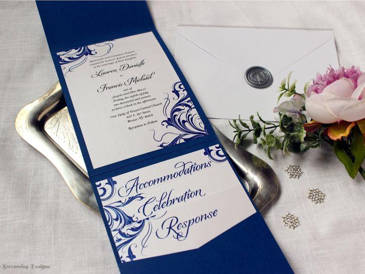 Tmx Theknot17 51 765033 157938708542895 Commack, NY wedding invitation