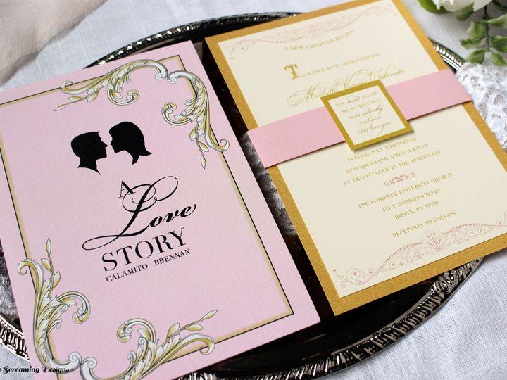 Tmx Theknot21 51 765033 157938708710829 Commack, NY wedding invitation