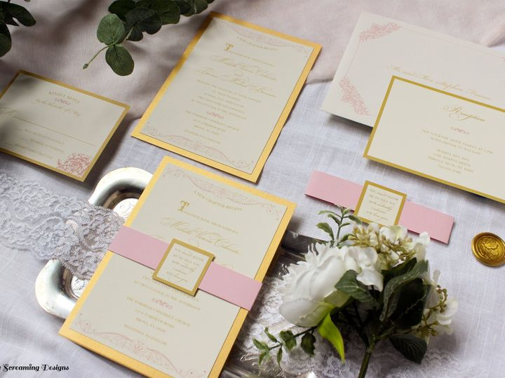 Tmx Theknot22 51 765033 157938708777878 Commack, NY wedding invitation