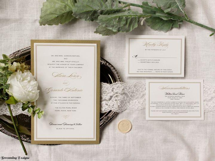 Tmx Theknot23 51 765033 157938708855099 Commack, NY wedding invitation