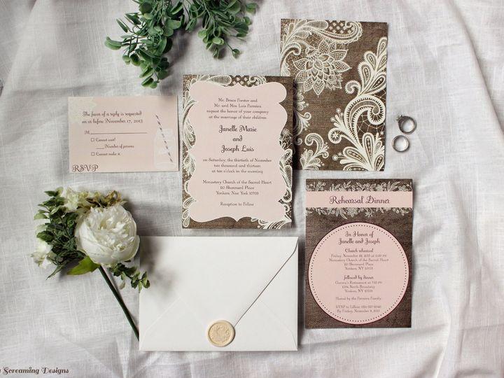 Tmx Theknot24 51 765033 157938708744782 Commack, NY wedding invitation