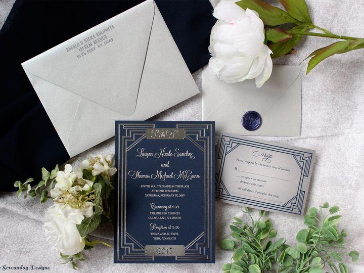 Tmx Theknot25 51 765033 157938708987085 Commack, NY wedding invitation