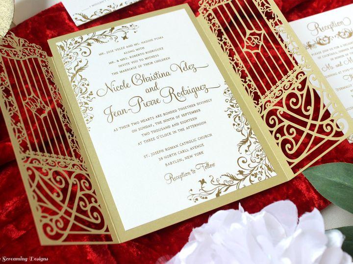 Tmx Theknot26 51 765033 157938708946784 Commack, NY wedding invitation