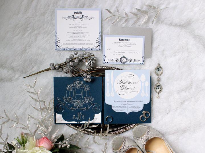 Tmx Theknot27 51 765033 157938708818168 Commack, NY wedding invitation