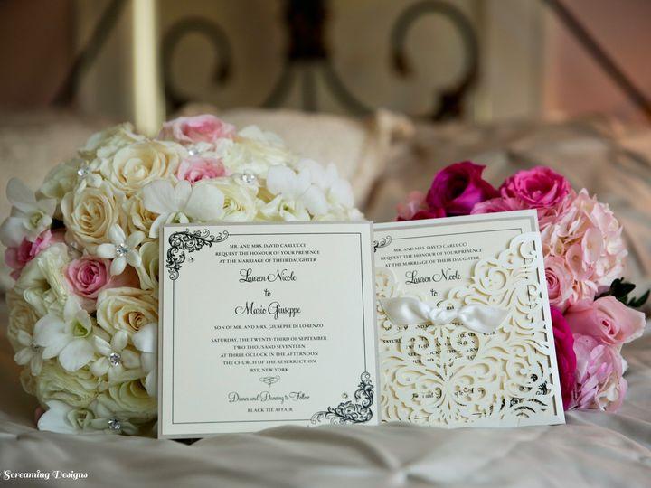 Tmx Theknot2 51 765033 157938708246269 Commack, NY wedding invitation
