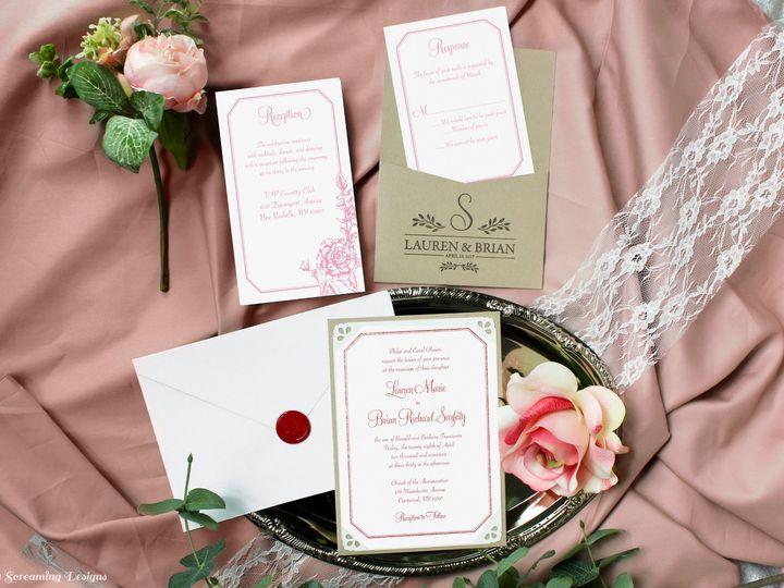 Tmx Theknot30 51 765033 157938709058420 Commack, NY wedding invitation