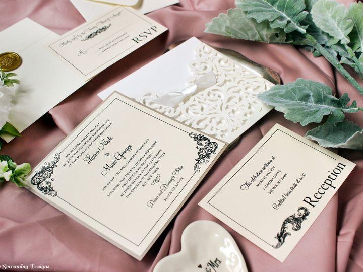 Tmx Theknot31 51 765033 157938709056628 Commack, NY wedding invitation