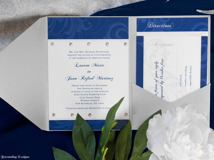 Tmx Theknot32 51 765033 157938708927638 Commack, NY wedding invitation