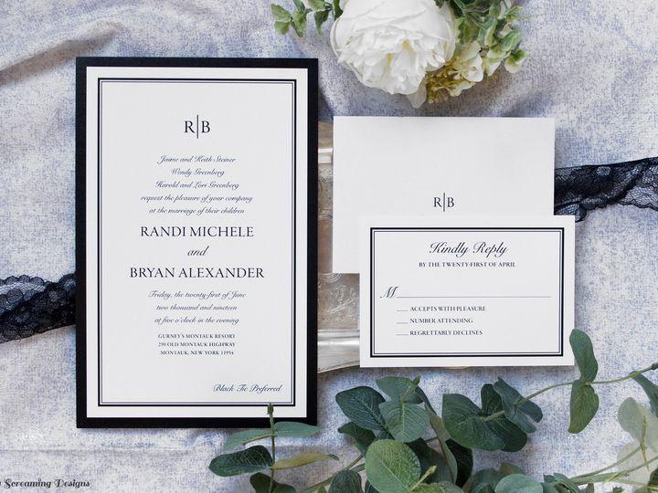 Tmx Theknot33 51 765033 157938709012223 Commack, NY wedding invitation