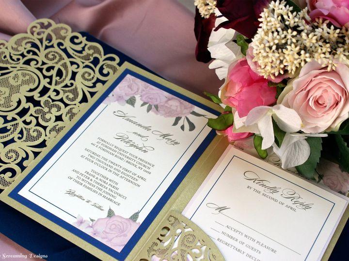 Tmx Theknot36 51 765033 157938709183111 Commack, NY wedding invitation