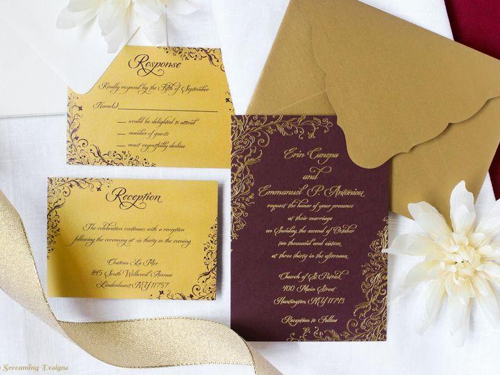 Tmx Theknot38 51 765033 157938709265597 Commack, NY wedding invitation