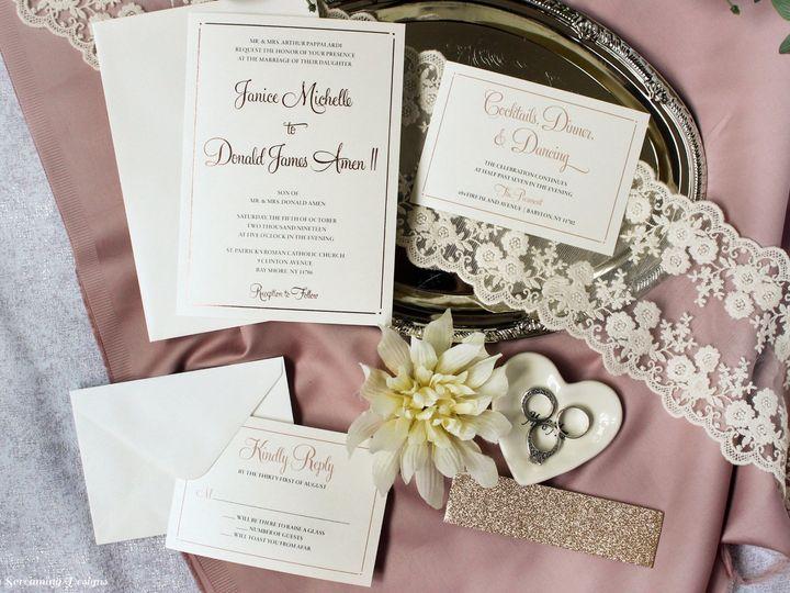 Tmx Theknot39 51 765033 157938709154153 Commack, NY wedding invitation