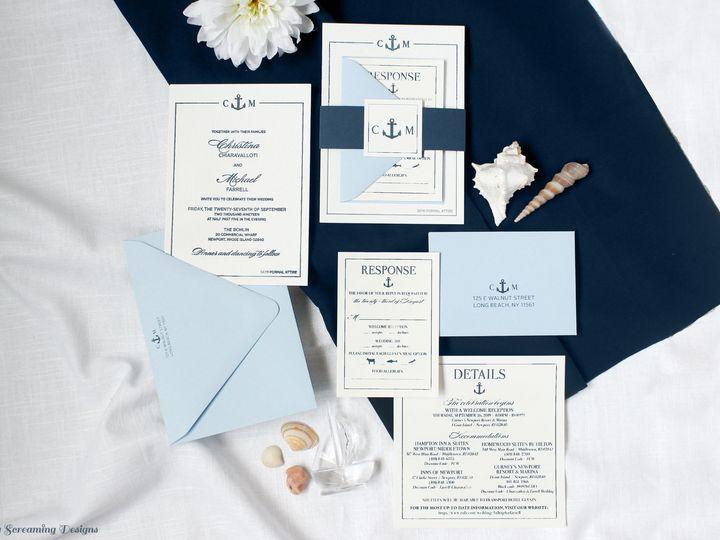 Tmx Theknot41 51 765033 157938709240714 Commack, NY wedding invitation