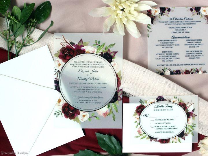 Tmx Theknot44 51 765033 157938709230304 Commack, NY wedding invitation