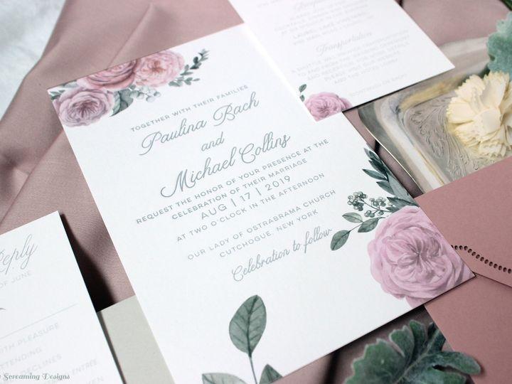 Tmx Theknot47 51 765033 157938709388809 Commack, NY wedding invitation