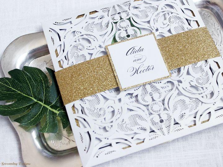 Tmx Theknot49 51 765033 157938709392077 Commack, NY wedding invitation