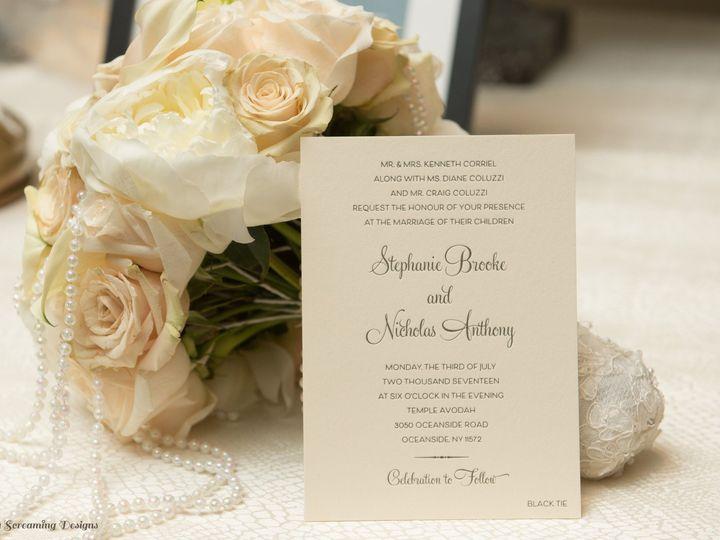 Tmx Theknot4 51 765033 157938708227228 Commack, NY wedding invitation