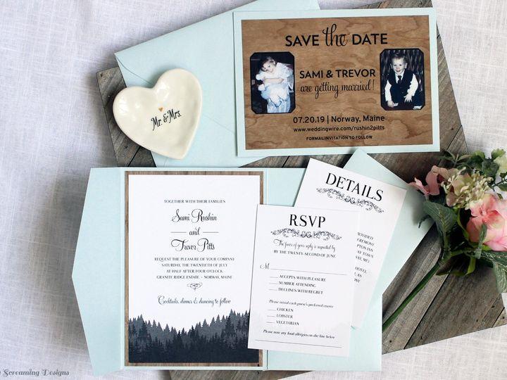 Tmx Theknot50 51 765033 157938709468788 Commack, NY wedding invitation