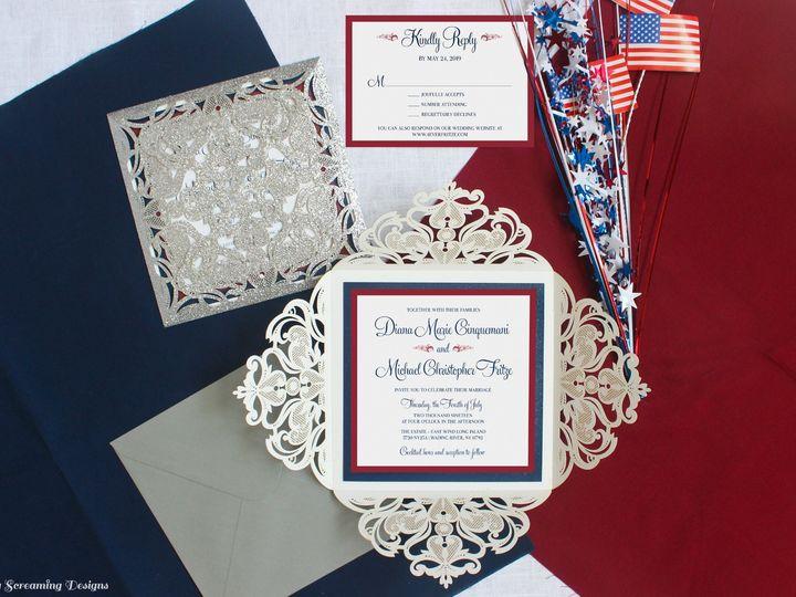 Tmx Theknot53 51 765033 157938709455238 Commack, NY wedding invitation