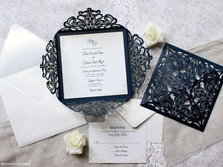 Tmx Theknot55 51 765033 157938709555981 Commack, NY wedding invitation