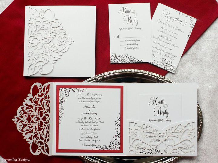 Tmx Theknot56 51 765033 157938709590606 Commack, NY wedding invitation