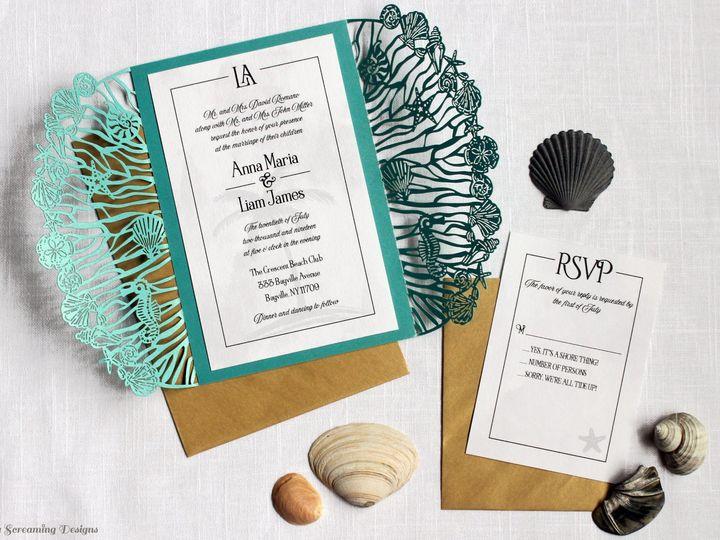 Tmx Theknot57 51 765033 157938709529880 Commack, NY wedding invitation