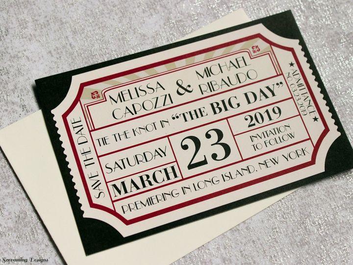 Tmx Theknot58 51 765033 157938709529554 Commack, NY wedding invitation