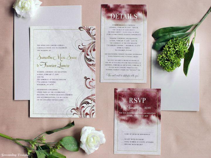 Tmx Theknot59 51 765033 157938709579480 Commack, NY wedding invitation