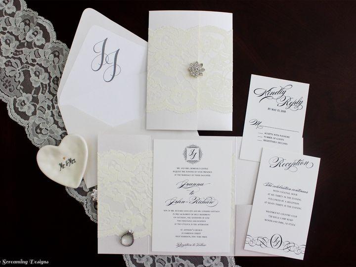 Tmx Theknot60 51 765033 157938709579623 Commack, NY wedding invitation