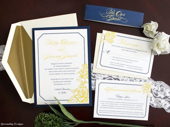 Tmx Theknot61 51 765033 157938709638012 Commack, NY wedding invitation