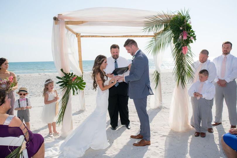 Tropical Beach Wedding!