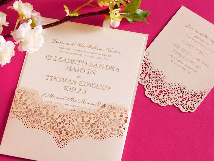 Tmx 1370275068775 94 Lasercutlace Highres Winston Salem wedding invitation
