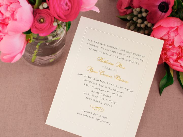 Tmx 1370275157101 94 Beadedborder Highres Winston Salem wedding invitation