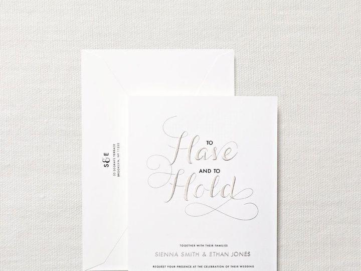 Tmx 1370275164419 Crane Hand Engraved Sunset Invitaiton Winston Salem wedding invitation