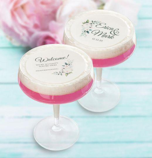 Cocktail Art - edible garnish