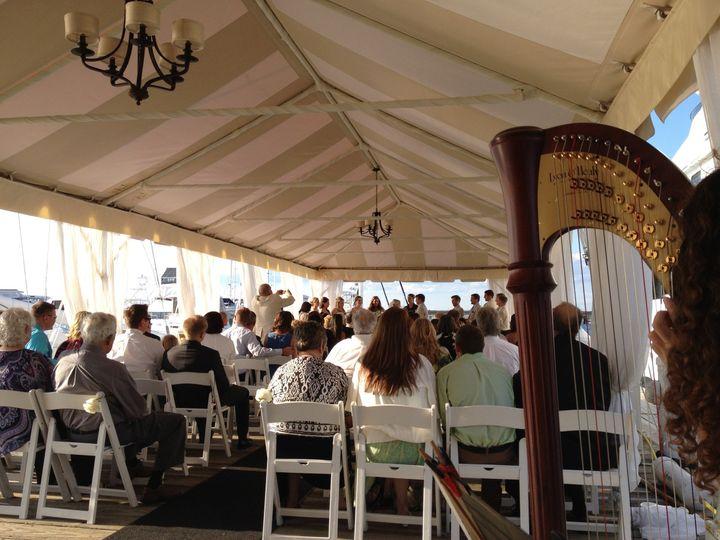 A Newport harbor ceremony