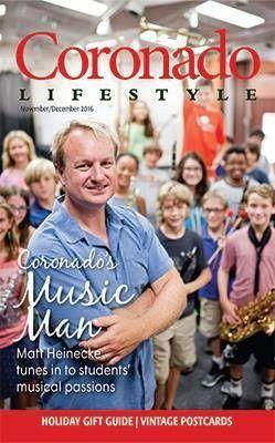 Profiled on the cover of Coronado Lifestyle Magazine! Nov/Dec 2016 issue.